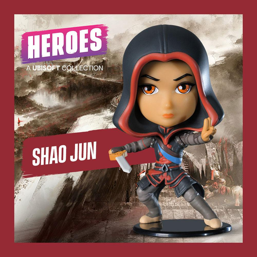 Assassin's Creed Ubisoft Heroes Collection Chibi Figure Shao Jun 10 cm